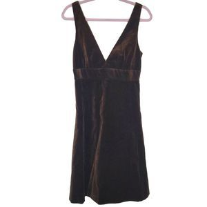 J. Crew velvet v neck new with tags dress